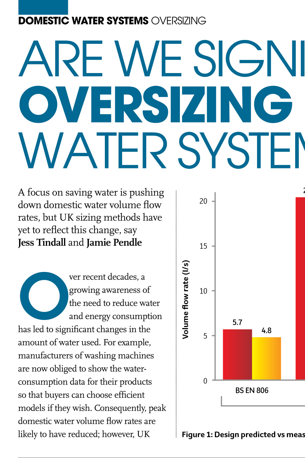Domestic Water Systems - CIBSE Journal - April 2015