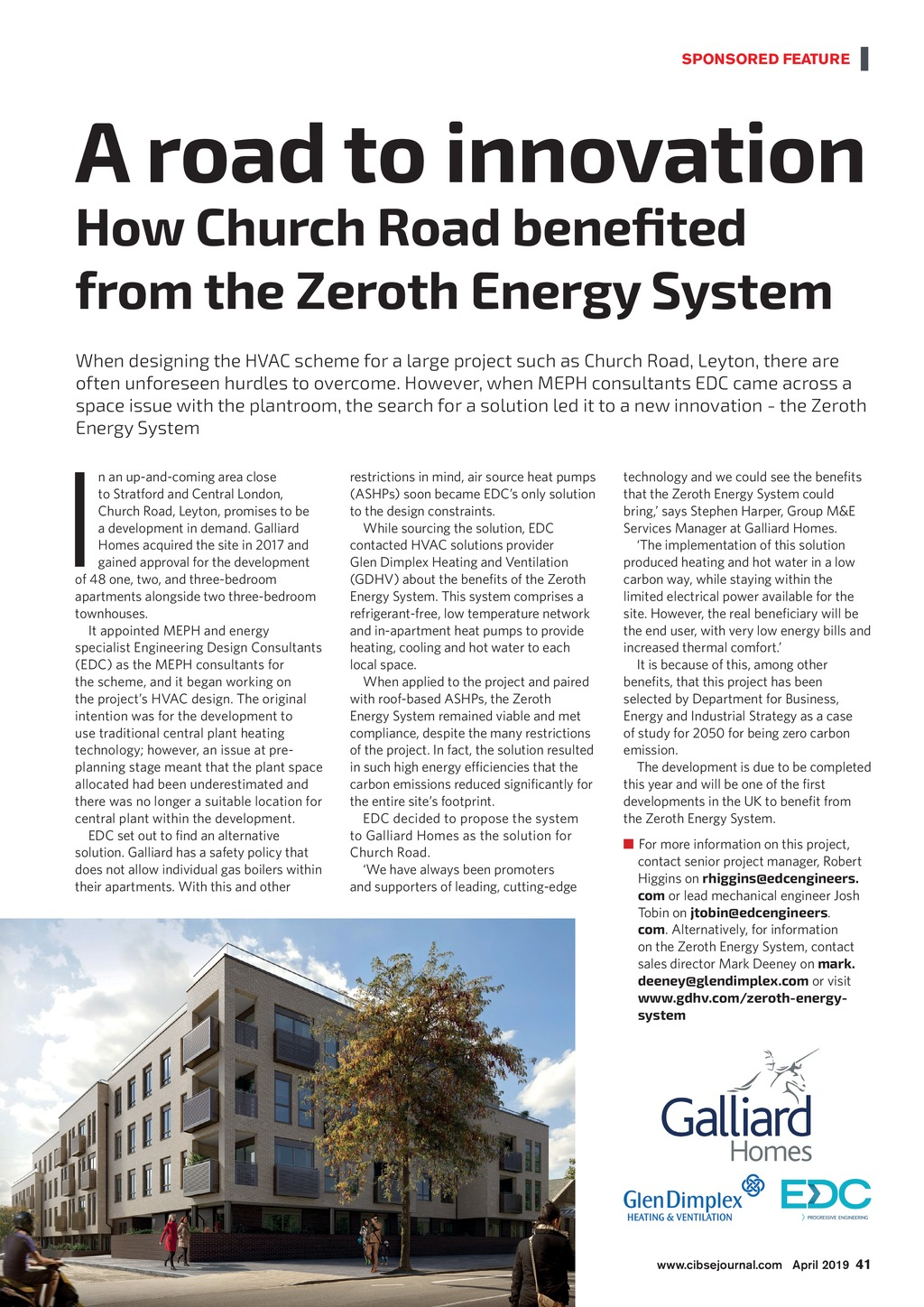 CIBSE Journal April 2019